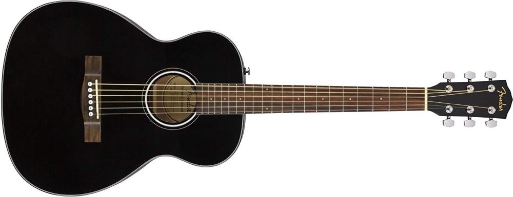 Fender CT-60S (BK) Travel Size Acoustic Guitar - Black