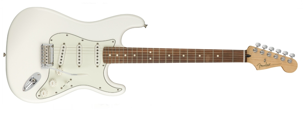 Fender Player Stratocaster PF/Polar White