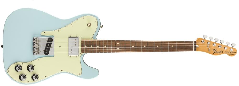 Fender Vintera 70s Telecaster Custom (SB/PF) Sonic Blue/Pau Ferro
