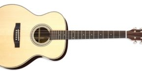 Aria-505 OM Acoustic Guitar