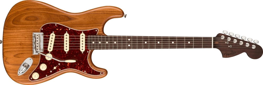 Fender American Professional Strat Aged Natural Ash | Rosewood Neck (Limited Edition)