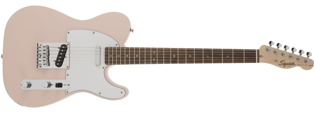Squier Affinity Telecaster (Shell Pink) Limited Edition