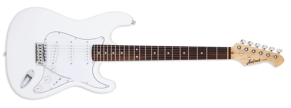 Aria STG-003 Start Guitar  - White