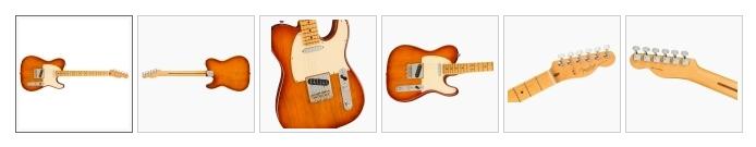 Fender American Professional II Telecaster - Sienna Burst