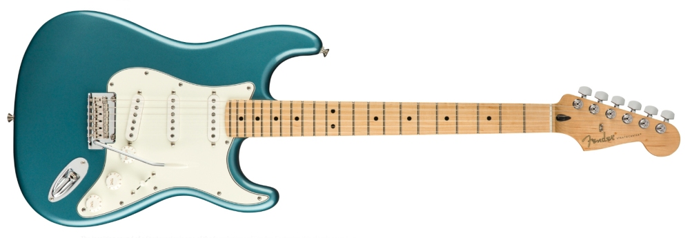 Fender Player Stratocaster Maple Neck in Tidepool Blue