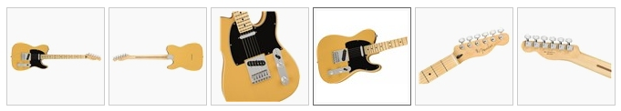 Fender Player Telecaster MN in Butterscotch Blonde
