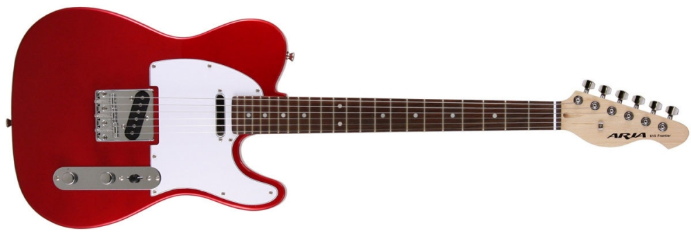 Aria 615 Frontier Telecaster in Candy Apple Red