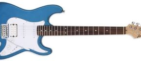 Aria STG 004 Stratocaster in Metallic Blue
