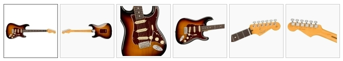 Fender American Professional II Stratocaster RW/ 3 Color Sunburst