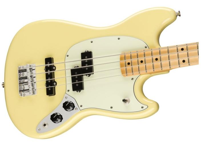 Fender FSR Player Mustang Bass MN/Canary Yellow