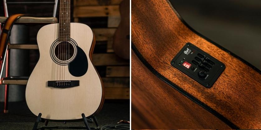 Cort AF510E (OP) Open Pore Concert Size Electro-Acoustic