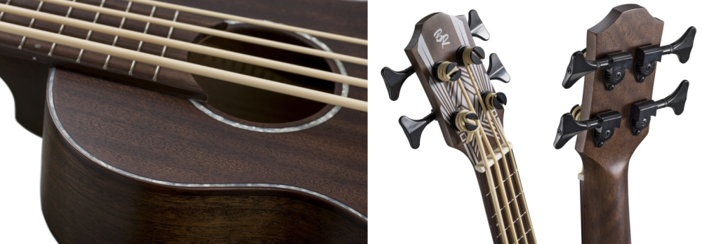 Baton Rouge UV11-BS-SCC Bass (Electro) Ukulele