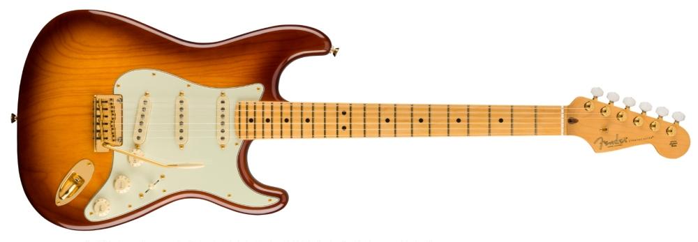 Fender 75th Anniversary Commemorative Stratocaster (Bourbon Burst)