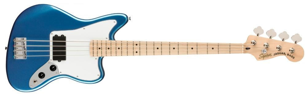 Squier Affinity Jaguar Bass Lake Placid Blue (Maple Neck)